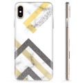 iPhone XS Max TPU Case - Abstract Marble