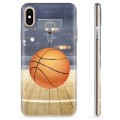 iPhone XS Max TPU Case - Basketball