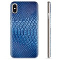 iPhone XS Max TPU Case - Leather