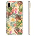 iPhone XS Max TPU Case - Pink Flowers