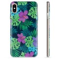 iPhone XS Max TPU Case - Tropical Flower