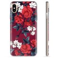 iPhone XS Max TPU Case - Vintage Flowers