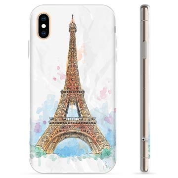 iPhone XS Max TPU Case - Paris