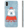iPhone XS Max TPU Case - Christmas Bear