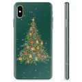 iPhone XS Max TPU Case - Christmas Tree