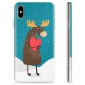iPhone XS Max TPU Case - Cute Moose