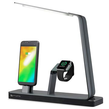 4smarts LoomiDock Charging Station & LED Lamp - Apple Watch, iPhone