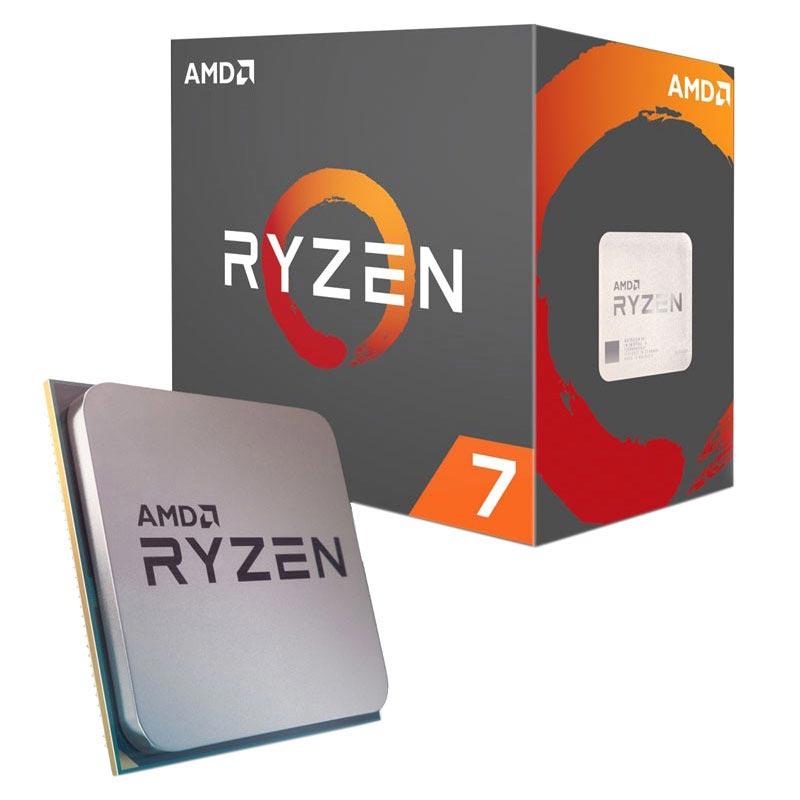 AMD YD180XBCAEWOF Ryzen 7 1800X 8-Core 3.6 GHz Socket AM4 95W Processor
