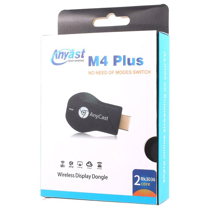 AnyCast M4 Plus Wireless TV Dongle - Airplay, DLNA, Miracast