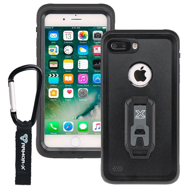 separation shoes 5e112 b1f84 iPhone 7 Plus Armor-X MX-AP7P Waterproof Case - Black