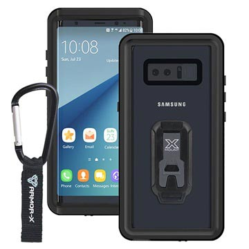 the latest bf97e bb3d4 Samsung Galaxy Note8 Armor-X MX-N8-BK Waterproof Case - Black