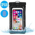 "Baseus ACFSD-A01 Air Cushion IPX8 Waterproof Case - 6"" - Black"