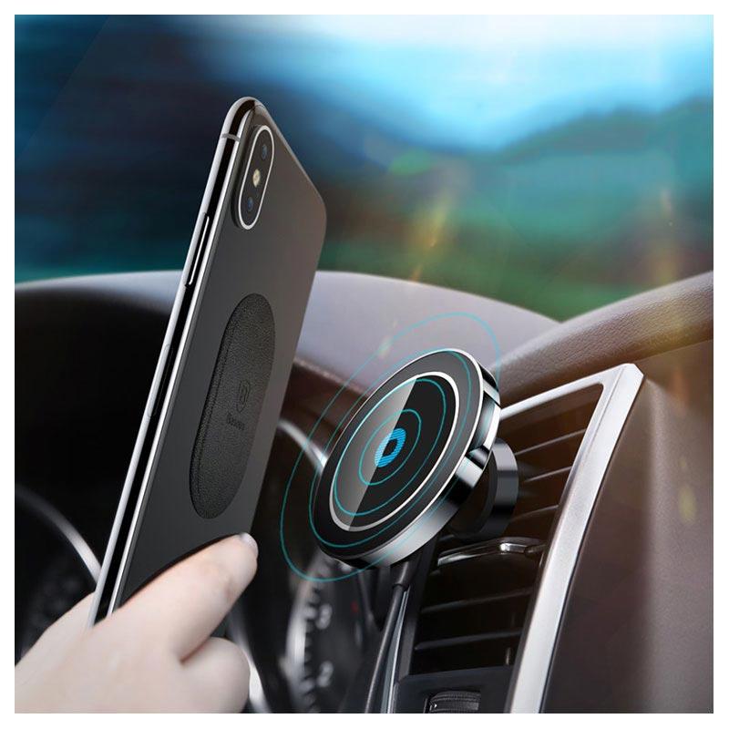 Baseus Big Ears Qc2 0 Qi Wireless Car Charger Magnetic