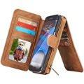 Samsung Galaxy S7 Edge Caseme Multifunctional Wallet Case - Brown