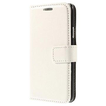 Samsung Galaxy S6 Classic Wallet Case - White