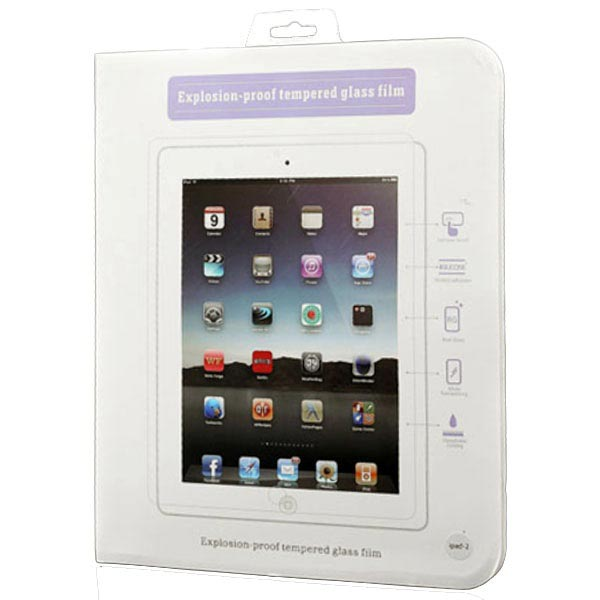 iPad 2, iPad 3, iPad 4 Tempered Glass Screen Protector
