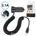 Forever M-01 USB 3.1 Type-C Car Charger - 2.1A - Black