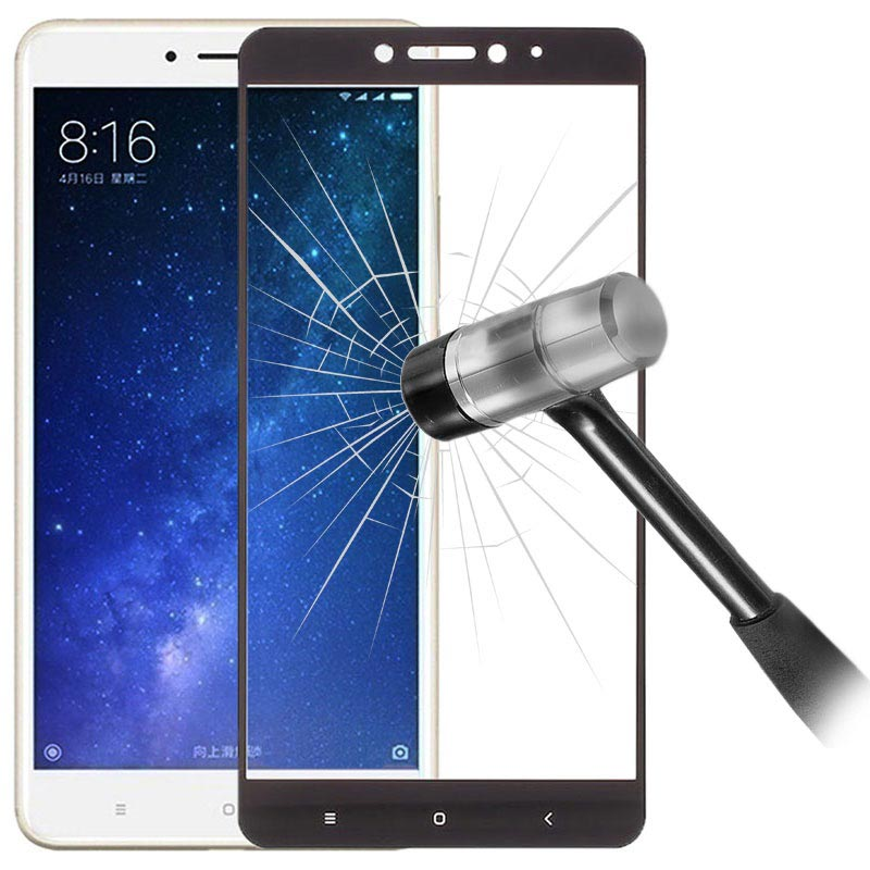 מרענן Xiaomi Mi Max 2 Full Cover Tempered Glass Screen Protector GK-97
