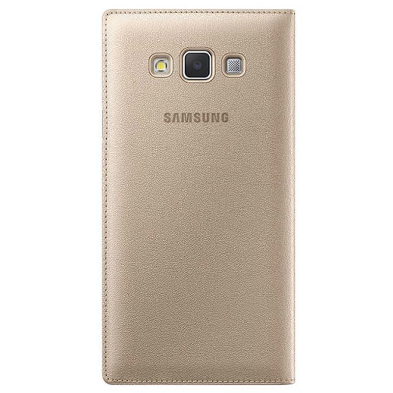 buy online ae788 5d9a4 Samsung Galaxy A7 (2015) S-View Flip Case EF-CA700BFEGWW