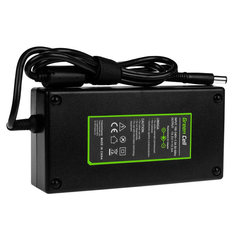 Green Cell Charger/Adapter - Dell Alienware 17 R4, R5, M17x, Precision  M6500, M6600 - 210W