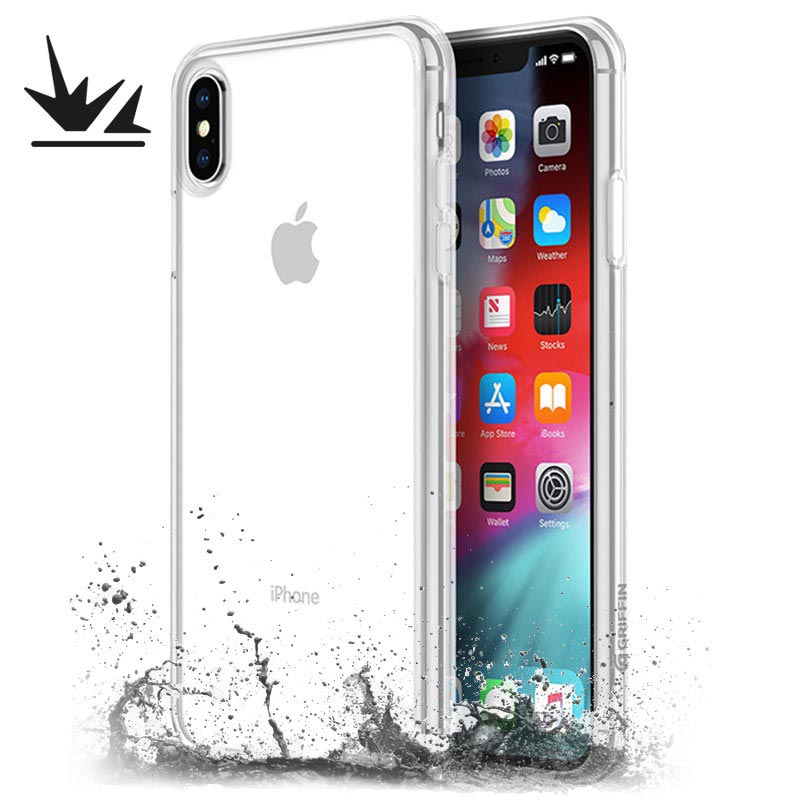 Griffin Reveal iPhone XS Max Drop-proof Case - Clear