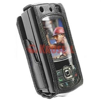 lowest price 71281 e0813 Krusell Dynamic Multidapt Leather Case for the Nokia N80