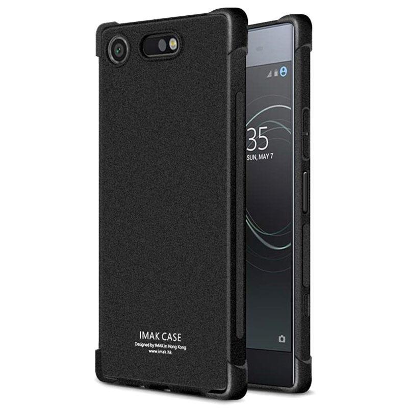 timeless design 39afd c3fdb Sony Xperia XZ1 Compact Imak Anti-scratch TPU Case - Matte Black