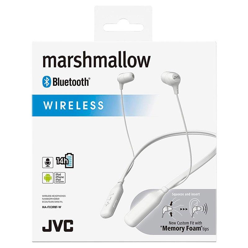 256db2ee357 JVC Marshmallow Wireless Headphones HA-FX39BT