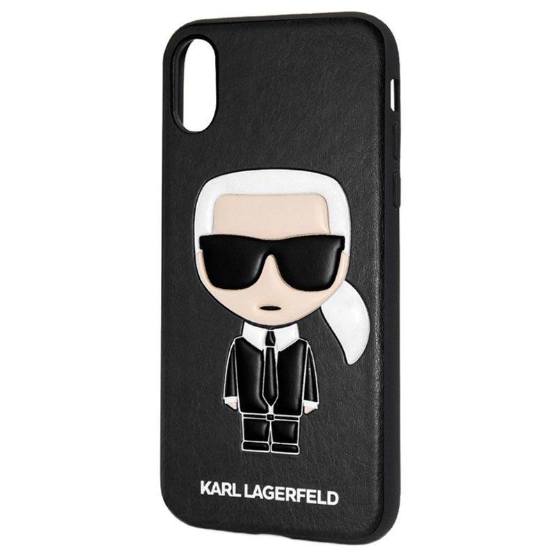 purchase cheap 63ee2 b05f6 Karl Lagerfeld Ikonik iPhone X / iPhone XS Case - Black