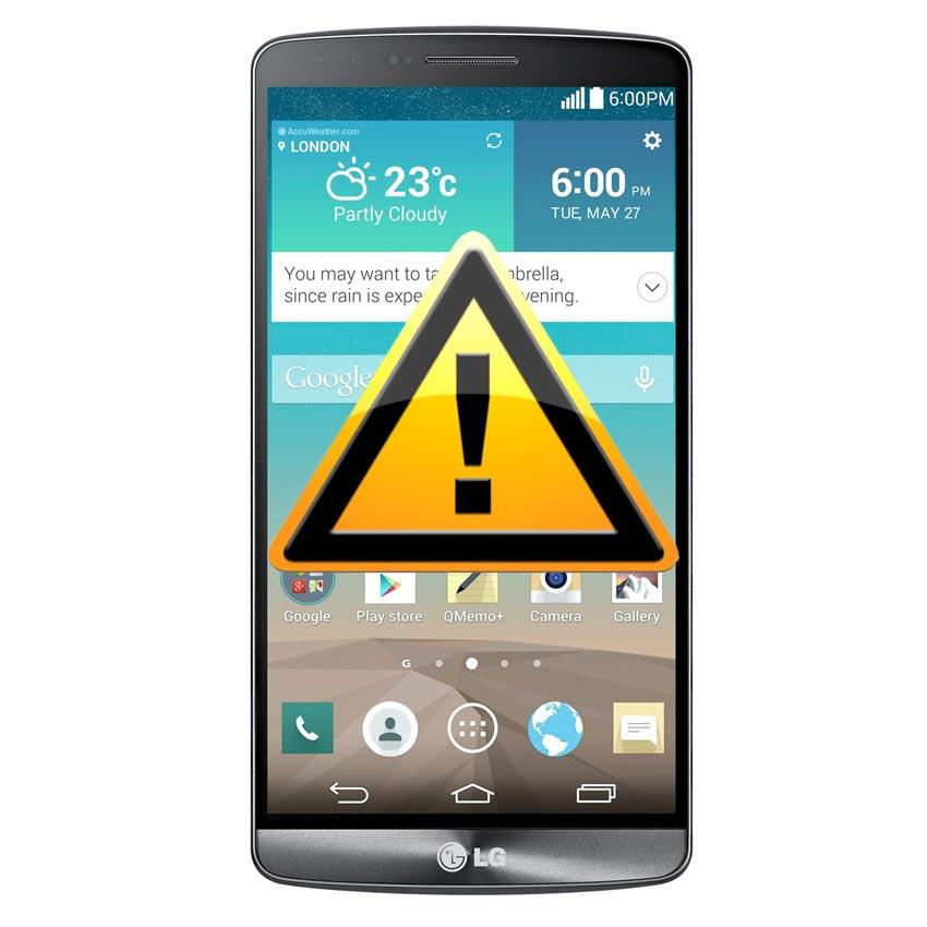LG G3 SIM Card & Memory Card Reader Repair