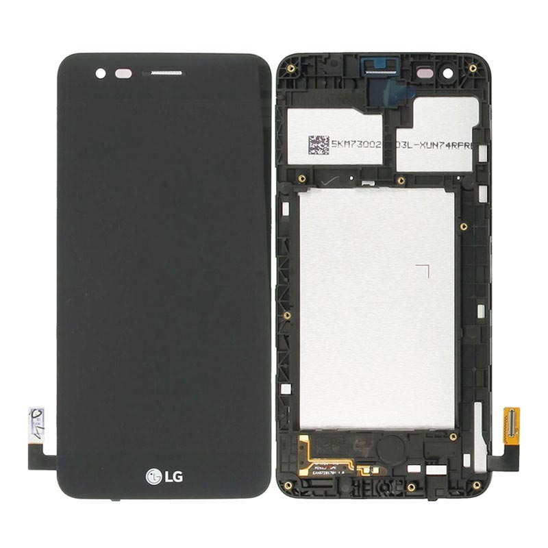 LG K4 (2017) Front Cover & LCD Display - Black