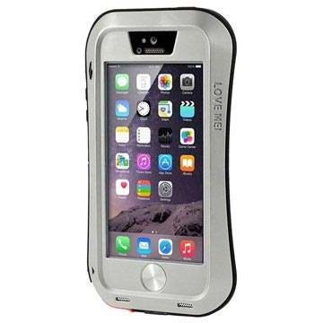 iPhone 5/5S/SE Love Mei Powerful Case - Silver