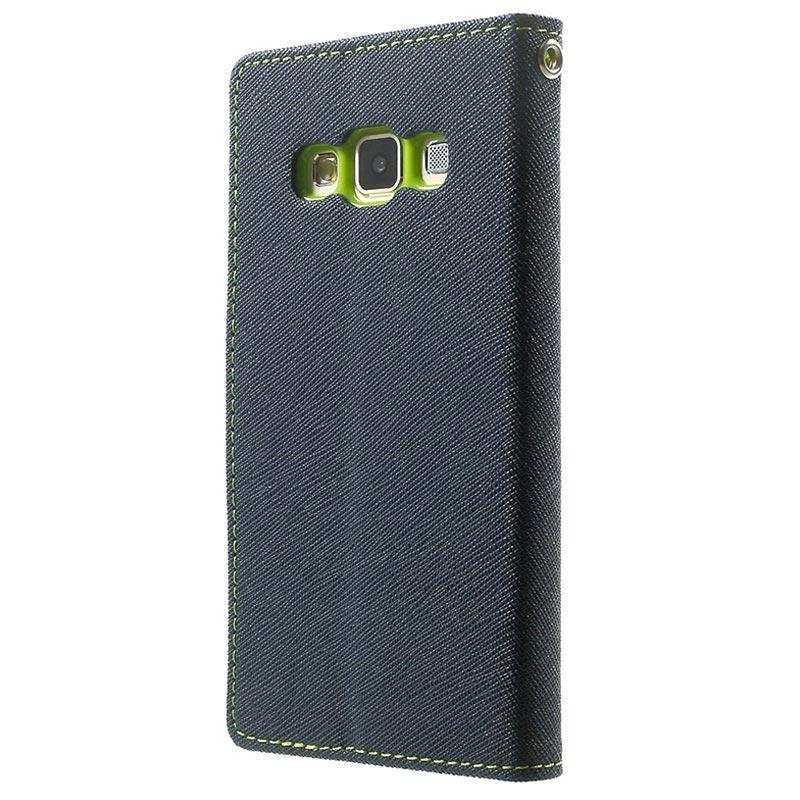 finest selection 826e9 747ff Samsung Galaxy A3 (2015) Mercury Goospery Fancy Diary Wallet Case - Dark  Blue / Green