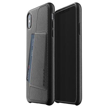 quality design 4db7b 22a7f Mujjo Full Leather iPhone XS Max Wallet Cover