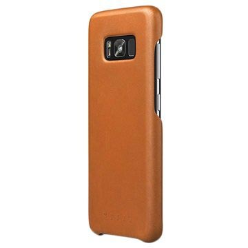 Samsung Galaxy S8 Mujjo Leather Case - Saddle Tan