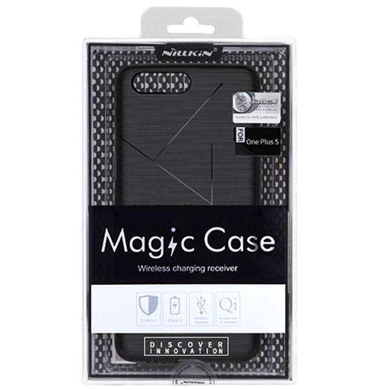 brand new 69cad 91edc OnePlus 5 Nillkin Magic Wireless Charging Case - Black
