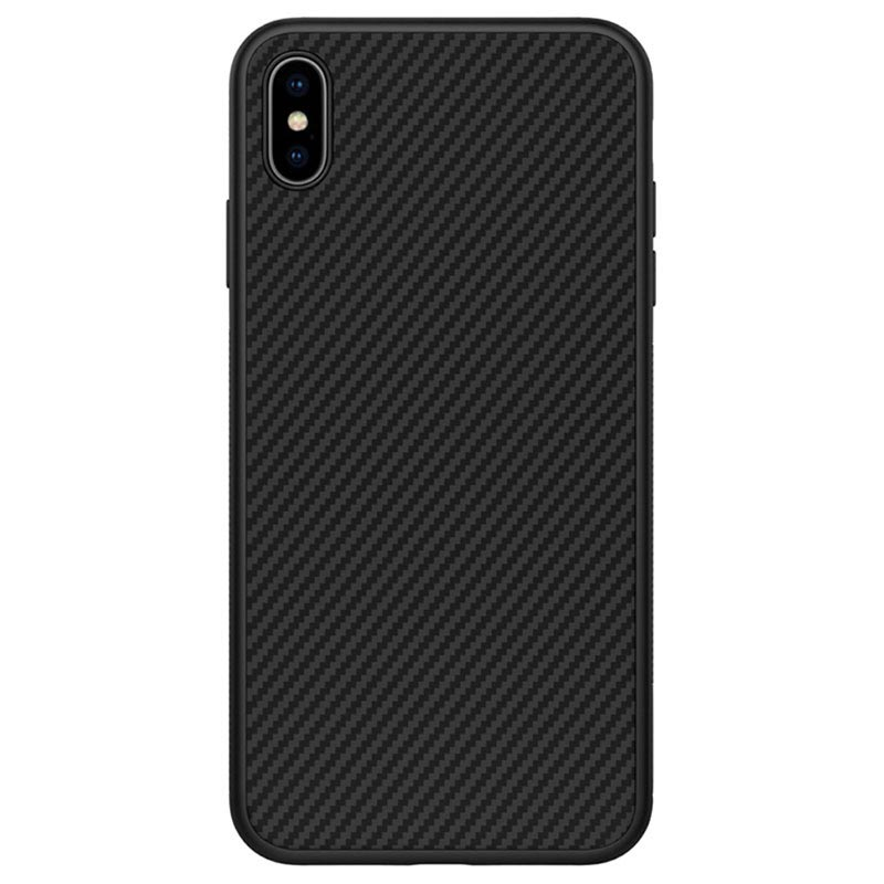 Carbon Fiber Iphone Case >> Nillkin Synthetic Carbon Fiber Iphone Xs Max Case Black