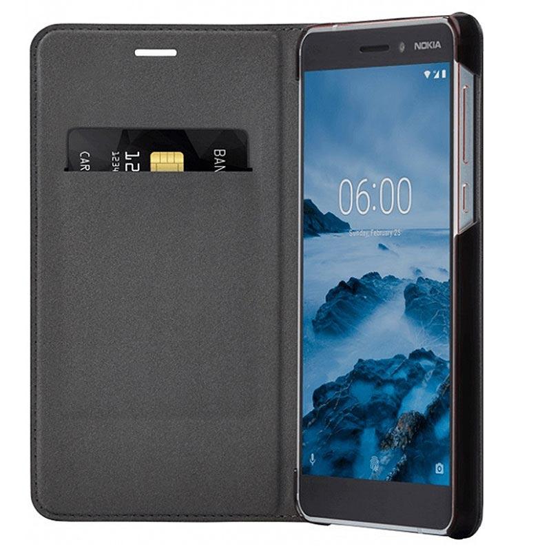 official photos bc115 59f7c Nokia 6.1 Slim Flip Case CP-308