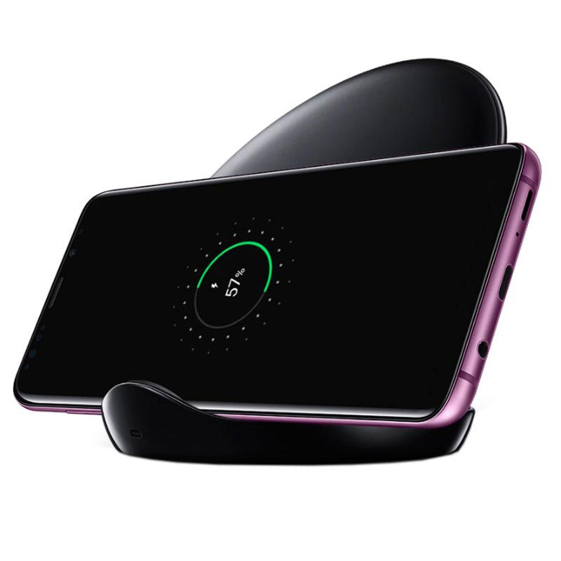 Samsung EP-N5100TB Fast Charge Wireless Charger Stand incl  Travel Adapter