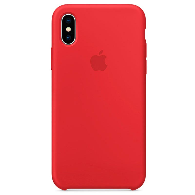 cover iphone x silicone apple