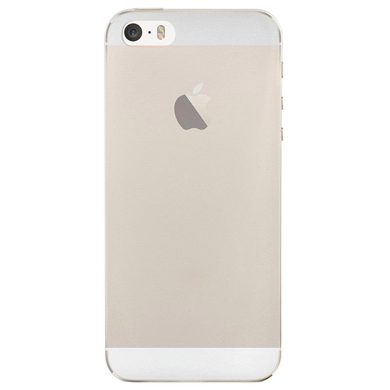 iPhone 5/5S/SE Puro 0.3 Ultra Slim Nude Silicone Case - Transparent