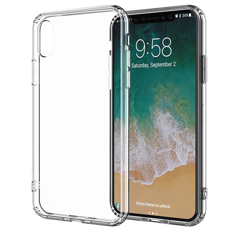 info for fe037 adf01 Puro Clear Series iPhone XR Cover - Transparent