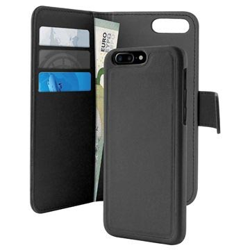 official photos 7815e 5b324 iPhone 7 Plus / iPhone 8 Plus Puro Detachable Wallet Case - Black