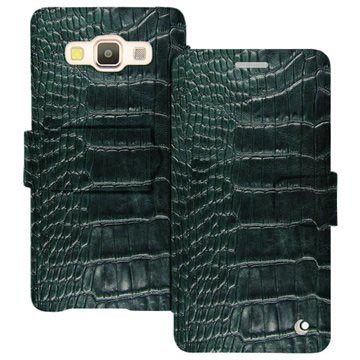 save off 913a8 70e55 Samsung Galaxy A5 (2015) Noreve Tradition B Wallet Leather Case - Horizon  Crocodile - Pino