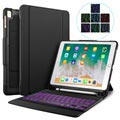 iPad 9.7 2017/2018 Smart Case with Bluetooth Keyboard - Black