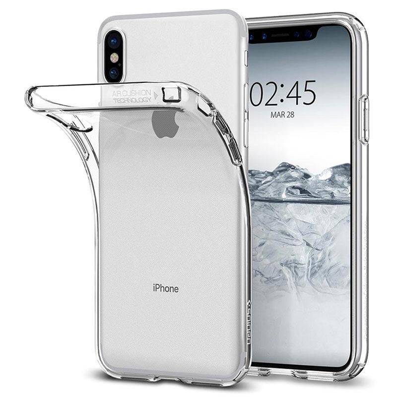 iPhone X / iPhone XS Spigen Liquid Crystal Case - Transparent