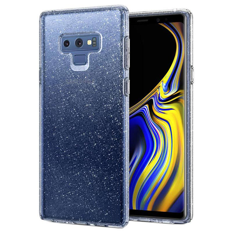Spigen Liquid Crystal Glitter Samsung Galaxy Note9 Case - Transparent