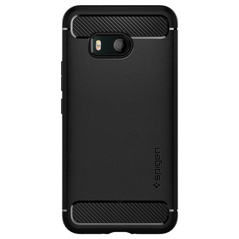 new concept d4f40 19d99 HTC U11 Spigen Rugged Armor Case - Black