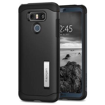 the best attitude 6f571 7f44c Spigen Slim Armor LG G6 Case - Black