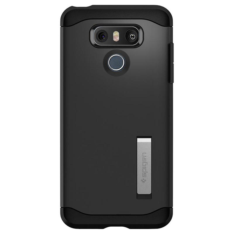 the best attitude ad75e 73fca Spigen Slim Armor LG G6 Case - Black
